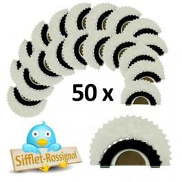50 Sifflets Rossignol