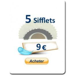 3 Sifflets Rossignol
